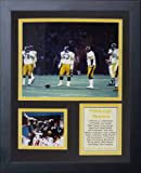 "Legends Never Die ""1970 Pittsburgh Steelers Steel Curtain"" Framed Photo Collage, 11 x 14-Inch"