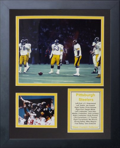 Steelers Framed Pittsburgh Photo (Legends Never Die