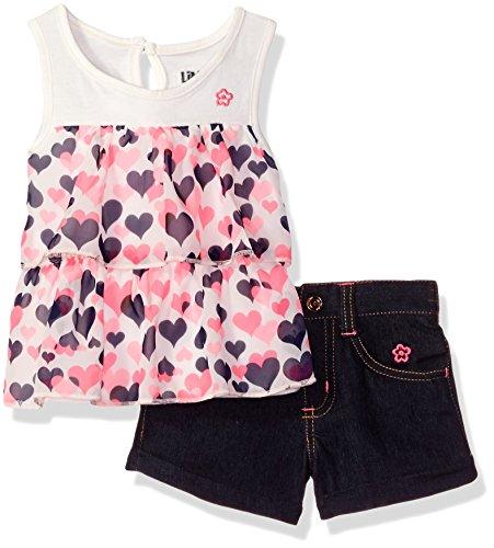 limited-too-baby-girls-2-piece-jersey-chiffon-tank-top-and-denim-short-vanilla-24m