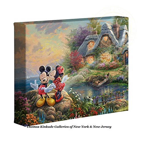 Thomas Kinkade Disney decor Mickey and Minnie