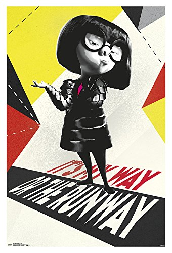 Trends International The Incredibles 2-Edna Wall Poster, 22.375