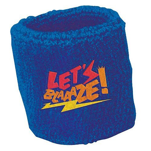 Amscan Rocking' Blaze & the Monster Machines Birthday Party Sweat Band Favors, Blue, 2 3/4