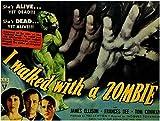 I Walked With a Zombie POSTER Movie (1943) Style A 11 x 14 Inches - 28cm x 36cm (Frances Dee)(Tom Conway)(James Ellison)(Christine Gordon)(Edith Barrett)(Darby Jones)(Sir Lancelot)