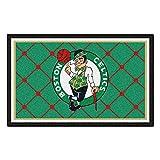 FANMATS NBA Boston Celtics Nylon Face 5X8 Plush Rug