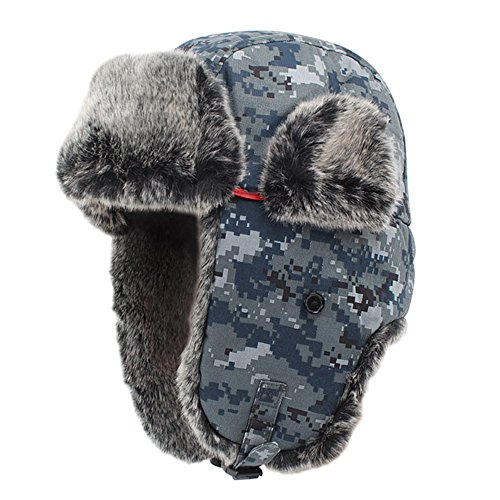 Ubestyle Camouflage Winter Warm Trooper Hat Hunting Hat Ushanka Ear Flap Ski Hat (Jungle Camouflage)