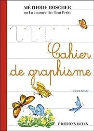 Cahier de graphisme par Gérard Sansey