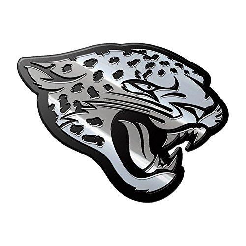 NFL Jacksonville Jaguars Premium Metal Auto Emblem