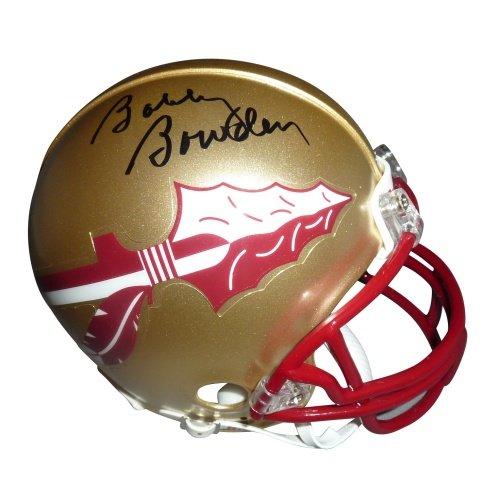 (Bobby Bowden Autographed Florida State FSU Seminoles Mini Helmet)