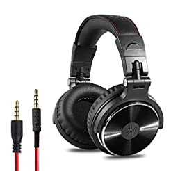 OneOdio Adapter-Free Closed Back Over-Ea...