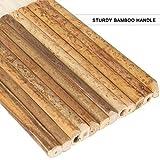 HNBun 8 PCS Sheep Hair Hake Brush, Bamboo Handle