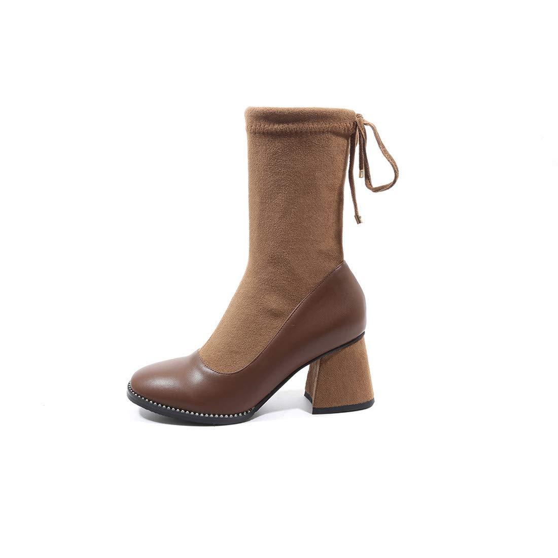Stiefel-DEDE Machen Siekeine Siekeine Siekeine Stiefel mit Stiefeln Röhre in Röhre   Damenstiefel mit hochhackiger Röhre Europa und den Vereinigten Staaten Damenstiefel mit großem Schlauch c96332