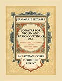 img - for Leclaire, Jean Marie : Sonatas for Violin and Basso Continuo, Op. 5 book / textbook / text book