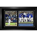Frameworth 69-460 Jose Bautista Double 8x10-Inch Pin and Plate Frame-Bat Flip and Celebration Toronto Blue Jays