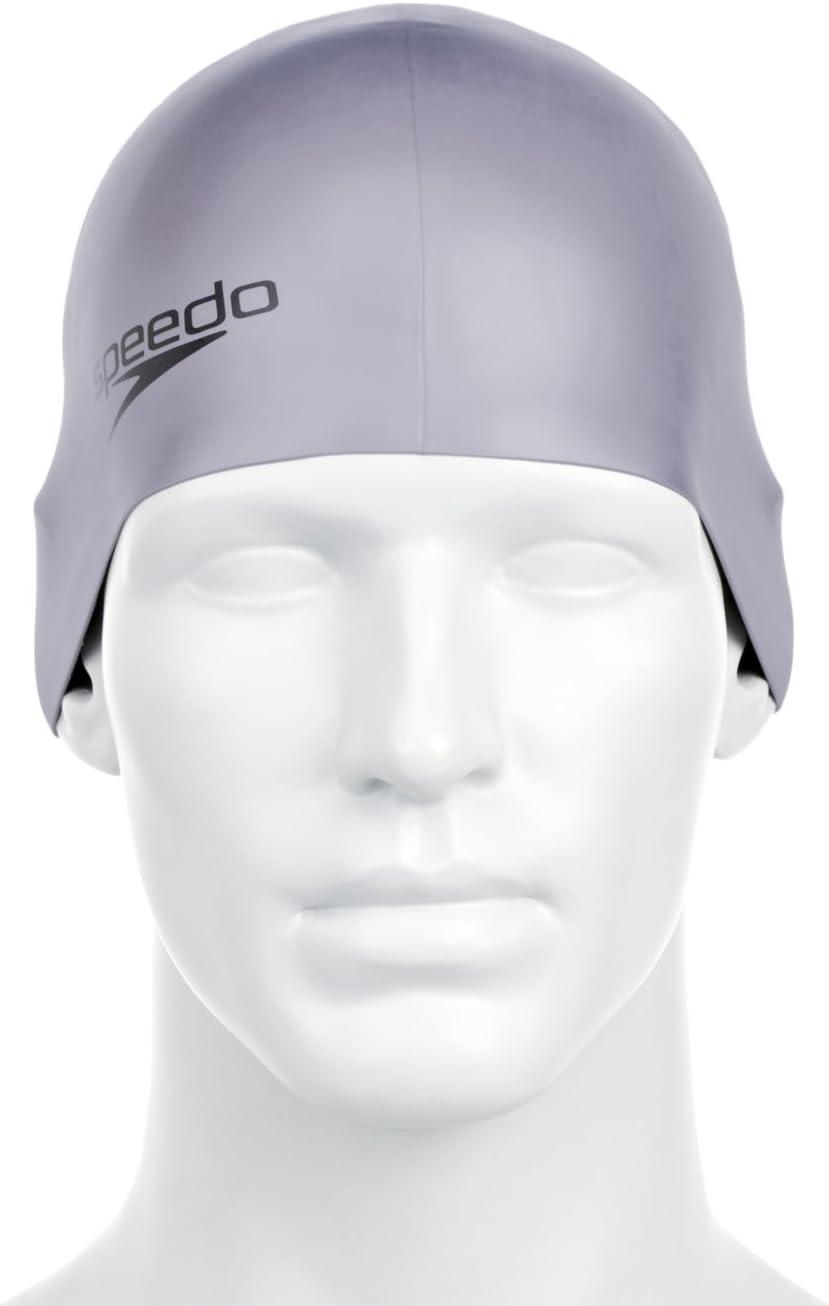 Speedo Badekappe Moud Cap AU - Ropa de natación con protección Solar para Hombre