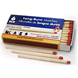 UCO Long Burn 3.75 Inch Safety Matches for Fireplaces, BBQ and Lanterns - Box of 50