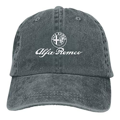 NICOTE Design Printing Comfortable Cap Alfa Romeo Logo New Baseball-Cap Deep Heather