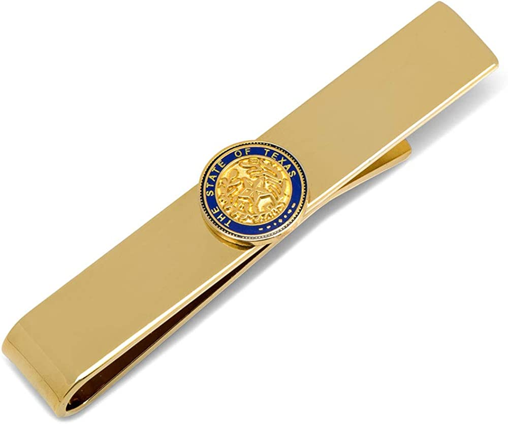 Cufflinks, Inc. State of Texas Seal Tie Bar