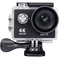 Raynic 4K WIFI Sports Action Camera Ultra HD Waterproof DV Camcorder 12MP 170 Degree Wide Angle