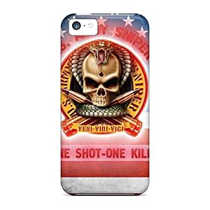 Top Quality Case Cover For Iphone 5c Case With Nice Sniper Appearance