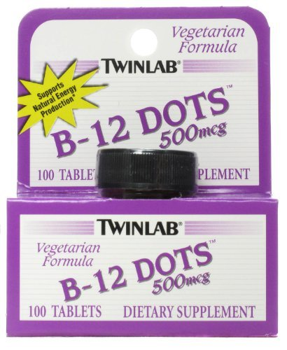 - Twinlab B 12 Dots 500 Mcg 100 Dot