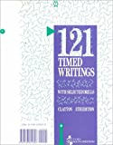 121 Timed Writings with Selected Drills, Clayton, Cheryl, 0538601698