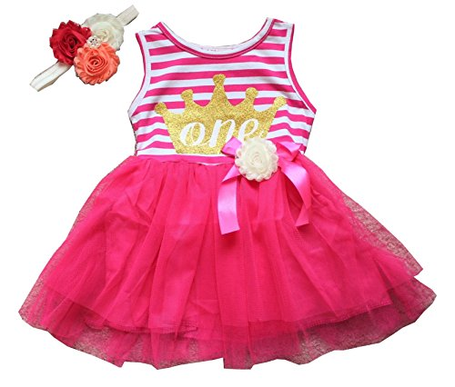 baby and girl matching dresses - 3