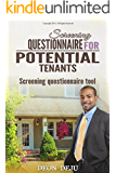 Screening Questionnaire for Potential Tenants: Screening Questionnaire Tool