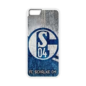 Custom Phone Case FC Schalke 04 For iPhone 6,6S Plus 5.5 Inch A55525