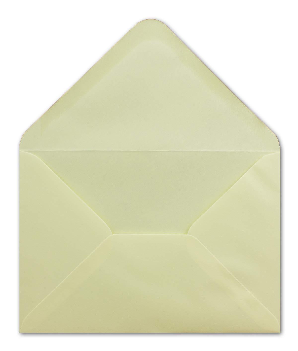 500 DIN C6 Briefumschläge Mintgrün - 11,4 x 16,2 16,2 16,2 cm - 80 g m² Nassklebung spitze Klappe - aus der Serie Colours-4-you - Glüxx-Agent B07PFPHRPN | Deutschland München  a1f0b3