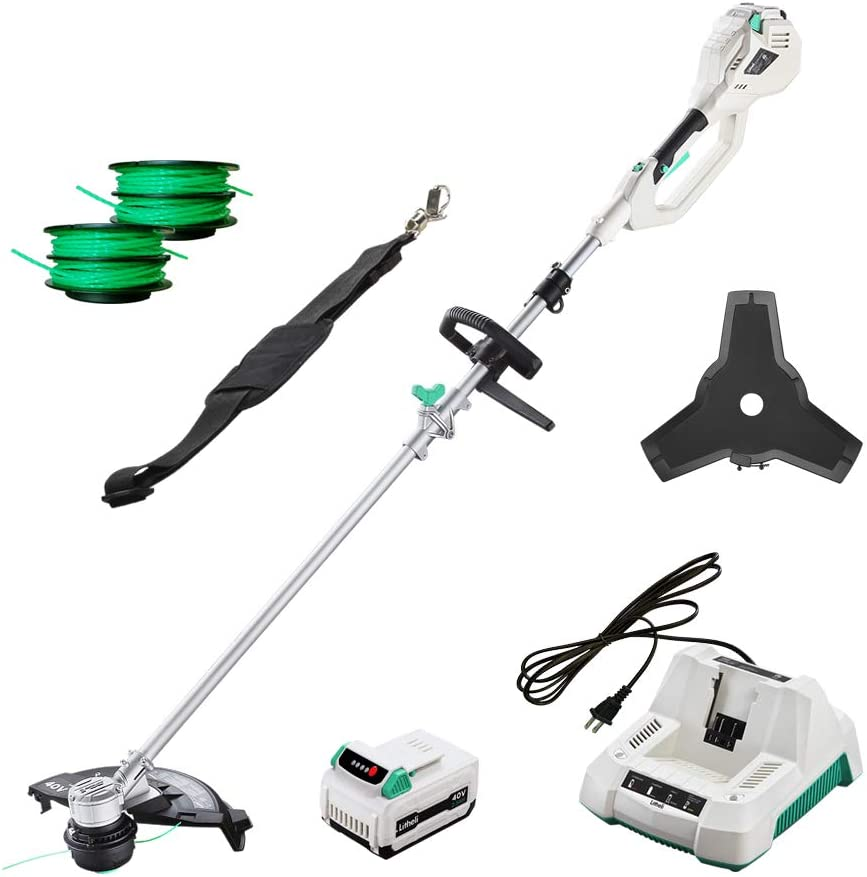alpha-ene.co.jp LiTHELi 40V 13 inches Cordless String Trimmer with ...