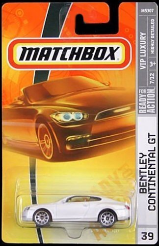 Matchbox 2008 VIP Luxury Pearl Bentley Continental GT #039 of 100