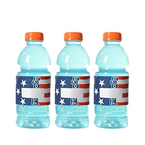 H2O ID BANDS: AMERICAN FLAG 3 PACK REUSABLE ID BANDS PERSONALIZE & LABEL YOUR WATER BOTTLES, REUSABLE BOTTLES & CUPS, SIPPY CUPS, SPORTS DRINKS, ENERGY DRINKS, COCKTAILS, AND ()