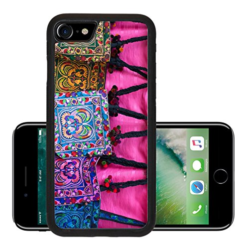Luxlady Premium Apple iPhone 7 Aluminum Backplate Bumper Snap Case iPhone7 IMAGE ID 26205411 Colorful tribal hand made bags by karens in North - Blanket Striped Northern