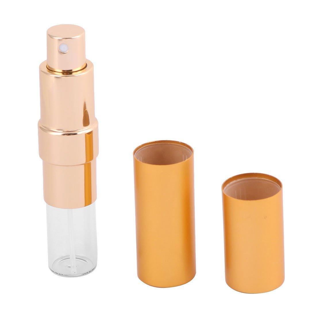 Amazon.com: eDealMax aleación DE 15 ml portátil en Forma de lápiz Labial Mini Botella del aerosol de Perfume del atomizador del tono de oro: Health ...