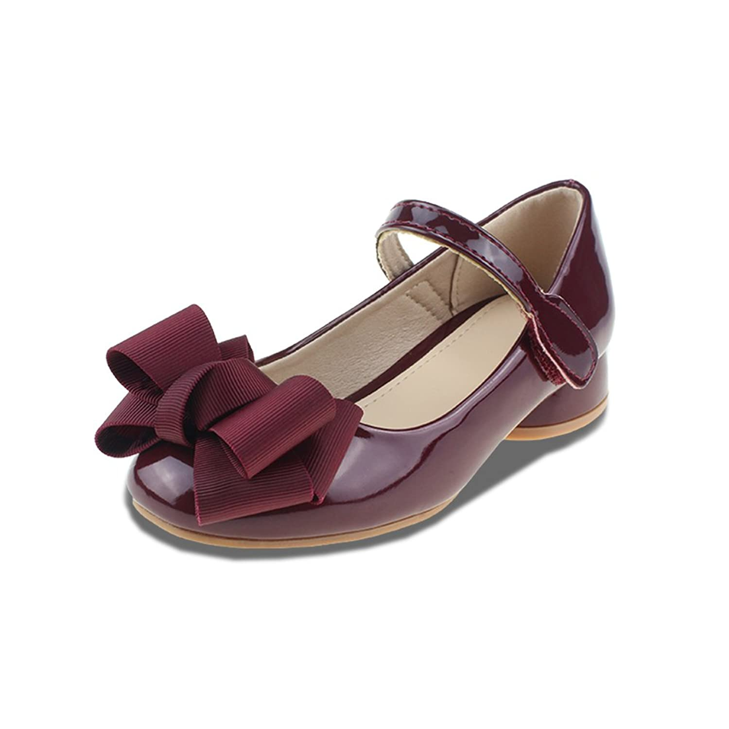 9e678dc0e9ba Chiximaxu Maxu Girl s Sandals Mary Jane Shoes with Bowknot(Toddler Little  Kid Big