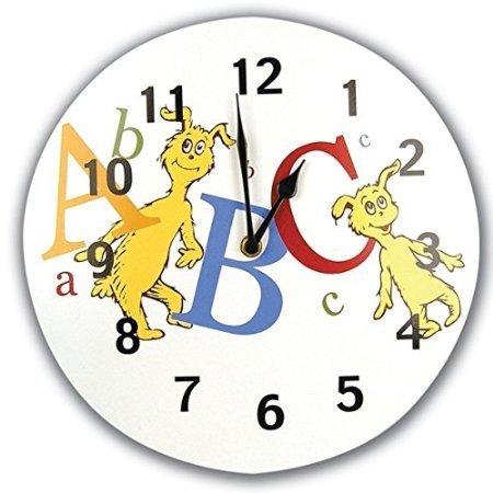 Trend Lab Dr. Seuss ABC Wall Clock by Bobfriend