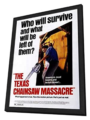 The Texas Chainsaw Massacre 27 x 40 Movie Poster - Style A - in Deluxe Wood Frame