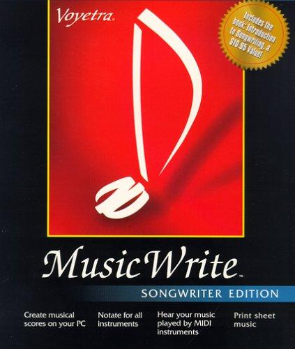 Music Write Songwriter Edition VOYETRA 731855049769 musicwriter