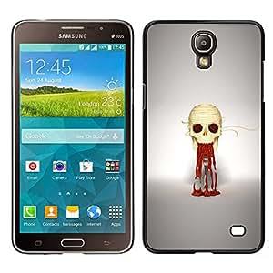 iKiki Tech / Estuche rígido - Puke cráneo - Samsung Galaxy Mega 2