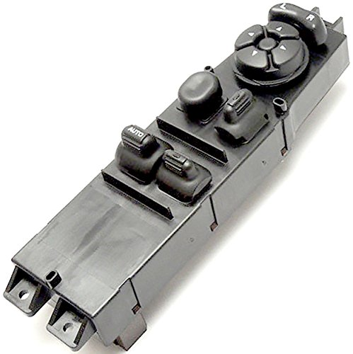 APDTY 134081 Master Power Window Switch Fits 2001-2004 Dodge Dakota 2-Door 2002-2004 Dodge Ram 1500 2-Door Pickup 2003-2004 Dodge Ram 2500 2-Door Pickup (Replaces 56045538AC) (Door Dakota Dodge Pickup)