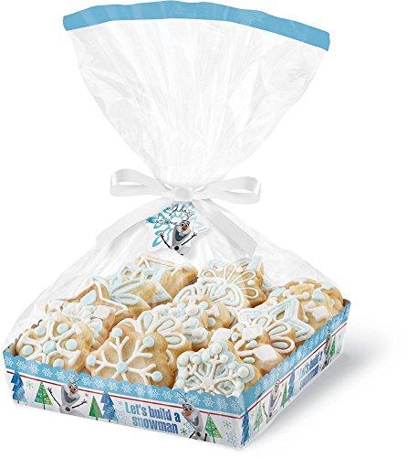 Wilton Disney Frozen Cookie Tray Gifting Kit, 4-Pack (Wilton Frozen Treat Bags)