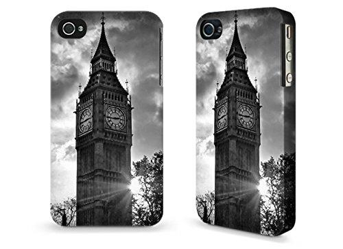 """Hülle / Case / Cover für iPhone 4 und 4s - """"Big Ben"""" by Ronya Galka"""