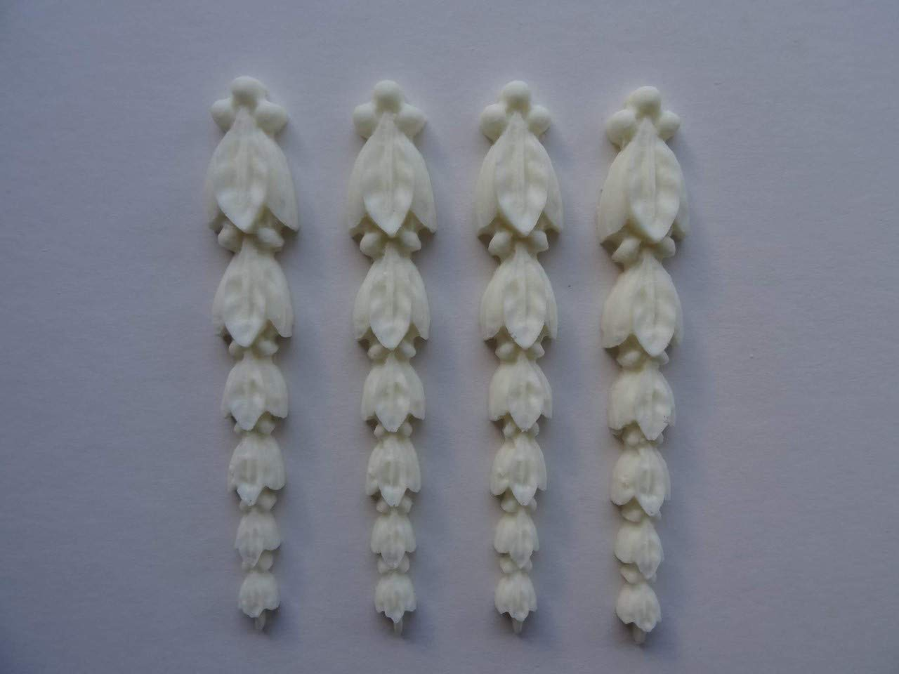 Decorative resin mouldings furniture applique shabby chic onlay large scrolls 51