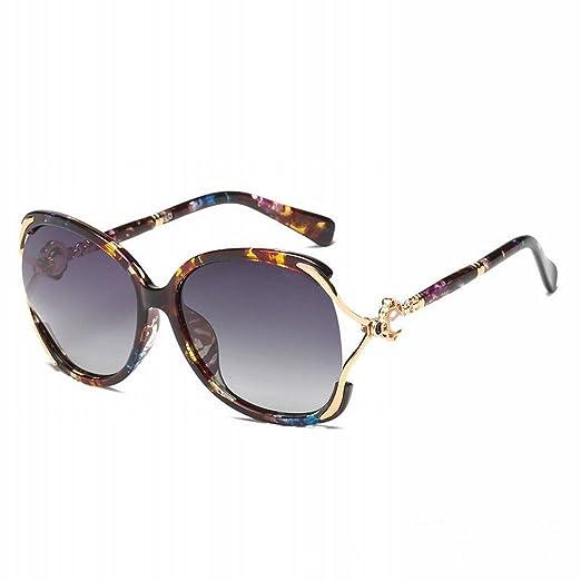 YL LY Gafas de Sol Altas Estilo Polarizadas HD para Mujer ...
