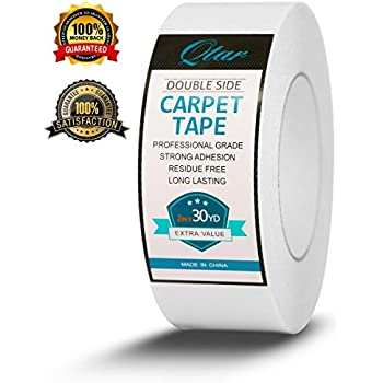 Xfasten Double Sided Carpet Tape 2 Inch X 30 Yards