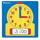 Learning Resources Write On/Wipe Off Demo Clock