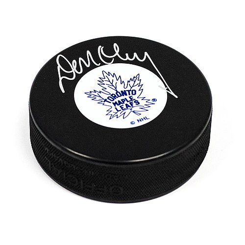 Don Cherry Toronto Maple Leafs Autographed Original Six Autograph Model Hockey Puck - Certified Signature from Sports Collectibles