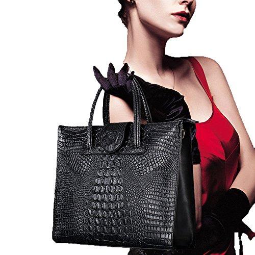 Donna A Eleganti Di Moda Da Borse Nero Per Borsa Tracolla Le Zm Donne SRxpqw6S