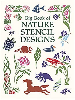 Book Big Book of Nature Stencils (Dover Pictorial Archive)