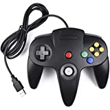 Classic N64 Controller, SAFFUN N64 Wired USB PC Game pad Joystick, N64 Bit USB Wired Game Stick Joy pad Controller for…